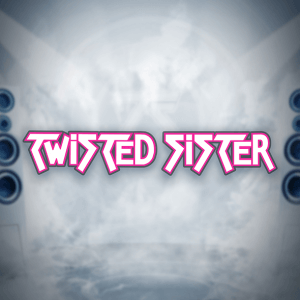 Twisted Sister logo achtergrond