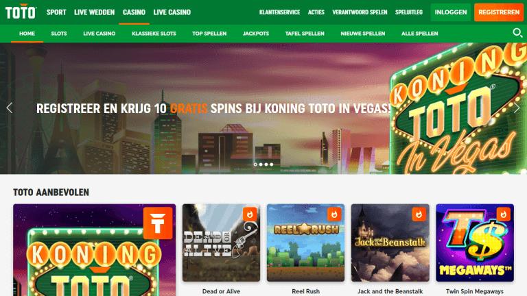 TOTO Casino Screenshot 1
