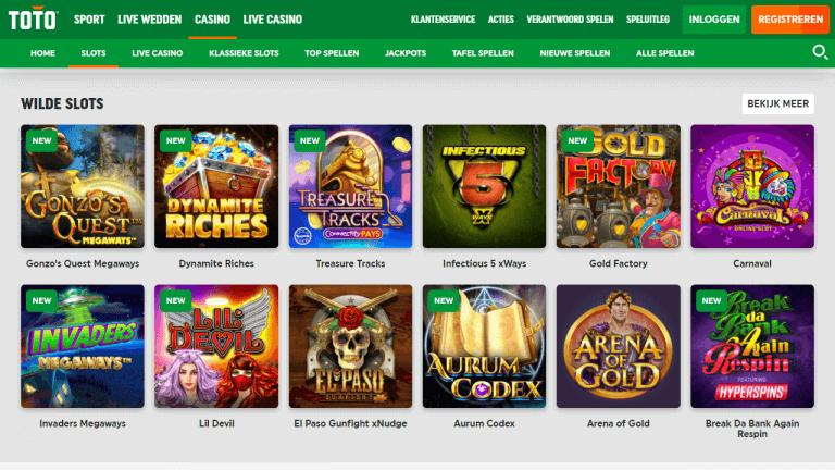 TOTO Casino Screenshot 2