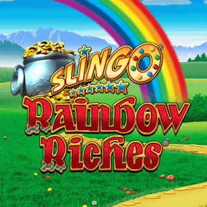 Slingo Rainbow Riches logo review