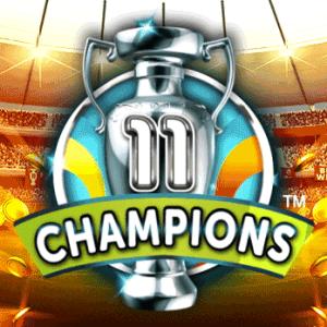 11 Champions logo achtergrond