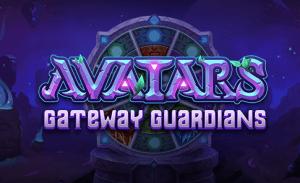Avatars: Gateway Guardians logo achtergrond