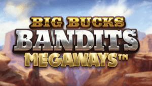 Big Bucks Bandits Megaways logo achtergrond