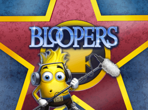 Bloopers logo achtergrond
