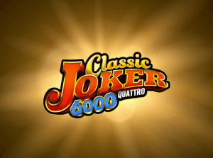 Classic Joker 6000 Quattro logo achtergrond