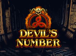 Devil's Number logo achtergrond