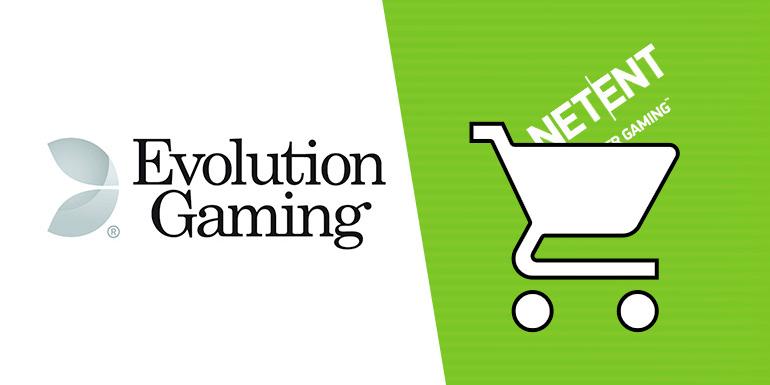 Evolution Gaming gaat NetEnt en Red Tiger overnemen