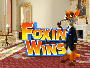 Foxin Wins side logo review