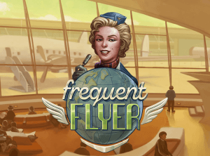 Frequent Flyer logo achtergrond