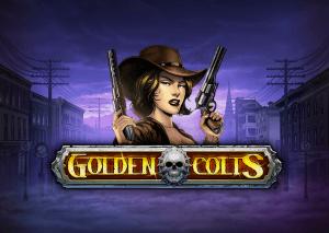 Golden Colts logo achtergrond