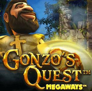 Gonzo's Quest Megaways logo achtergrond