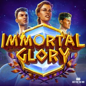 Immortal Glory logo achtergrond