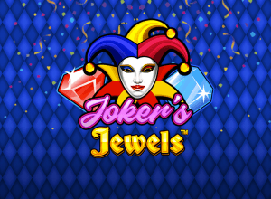 Joker's Jewels logo achtergrond