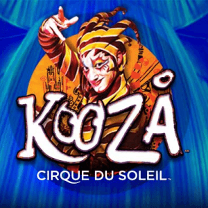 Cirque Du Soleil Kooza logo achtergrond