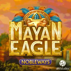 Mayan Eagle logo achtergrond