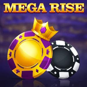Mega Rise logo achtergrond