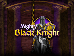 Mighty Black Knight side logo review