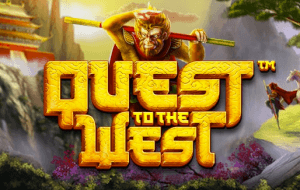 Quest To The West logo achtergrond