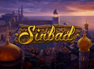 Sinbad logo achtergrond