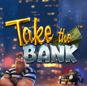 Take The Bank logo achtergrond