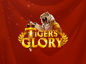 Tiger's Glory logo achtergrond