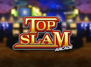 Top Slam Arcade logo achtergrond