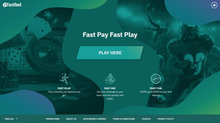 Fastbet Casino Screenshot 1