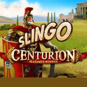 Slingo Centurion logo achtergrond