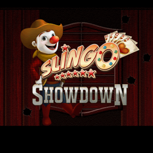 Slingo Showdown logo review