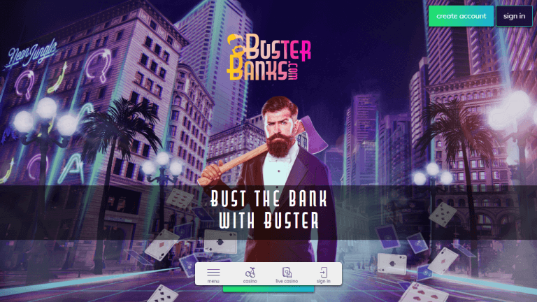 Buster Banks Casino Screenshot 1