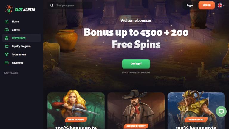 Slot Hunter Casino Screenshot 3