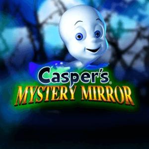 Casper's Mystery Mirror logo achtergrond