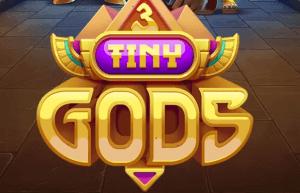 3 Tiny Gods logo achtergrond