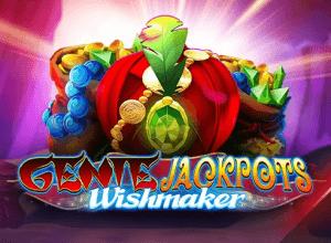 Genie Jackpots Wishmaker logo achtergrond