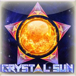 Crystal Sun logo achtergrond