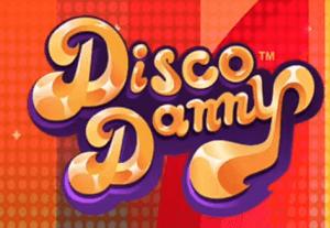 Disco Danny logo achtergrond