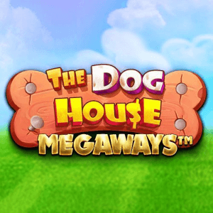 The Dog House Megaways logo achtergrond