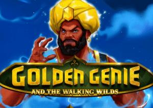 Golden Genie and The Walking Wilds logo achtergrond