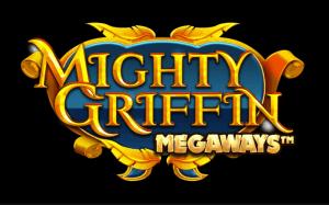 Mighty Griffin Megaways logo achtergrond