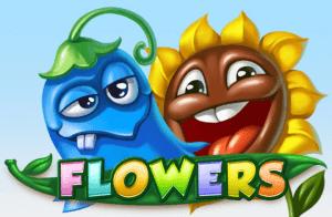 Flowers logo achtergrond