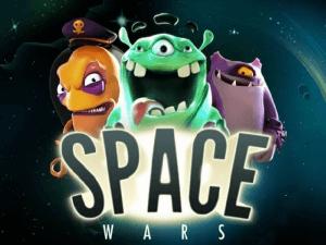Space Wars logo achtergrond