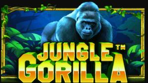 Jungle Gorilla logo achtergrond