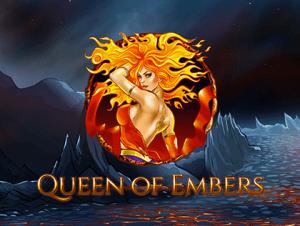 Queen Of Embers logo achtergrond