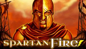 Spartan Fire logo achtergrond