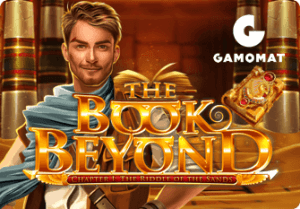 The Book Beyond logo achtergrond