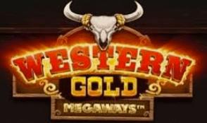 Western Gold Megaways logo achtergrond