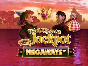 Wish Upon A Jackpot Megaways logo achtergrond