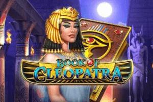 Book Of Cleopatra logo achtergrond