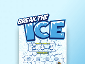 Break the Ice logo achtergrond