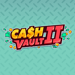 Cash Vault II logo achtergrond